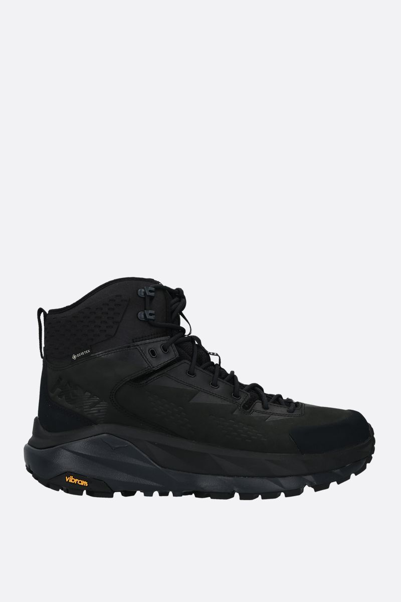HOKA ONE ONE: Sky Kaha ankle boots in GORE-TEX® Color Black_1