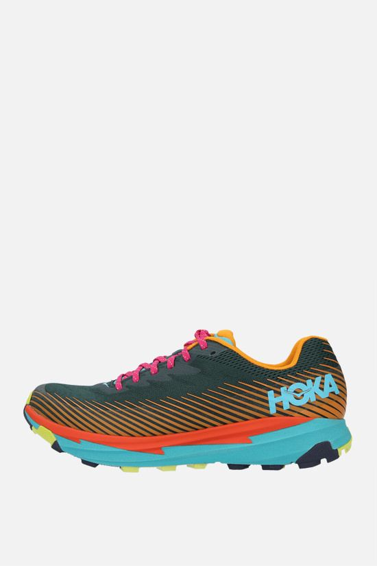 HOKA ONE ONE: Torrent 2 x Cotopaxi tech knit sneakers Color Multicolor_2