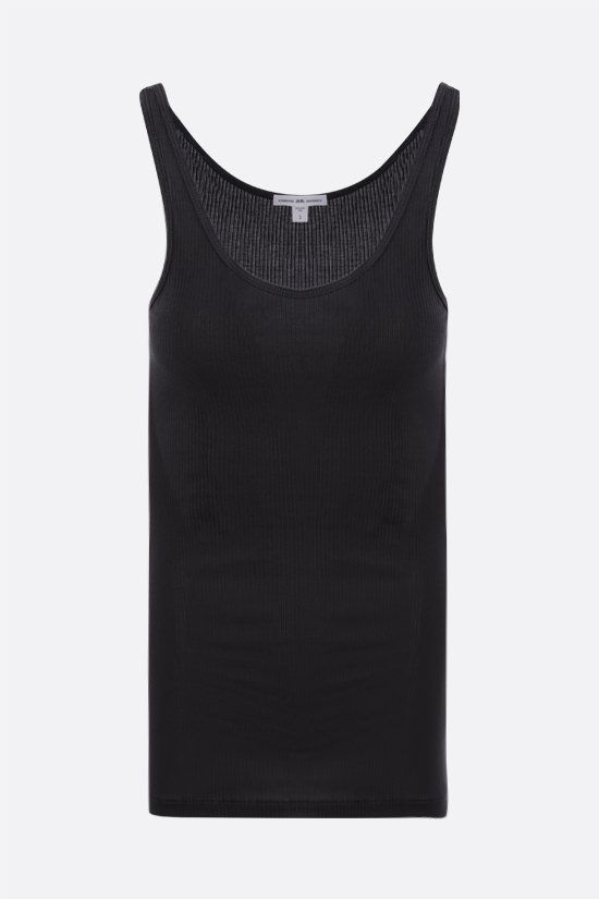 JAMES PERSE: ribbed cotton tank top Color Grey_1
