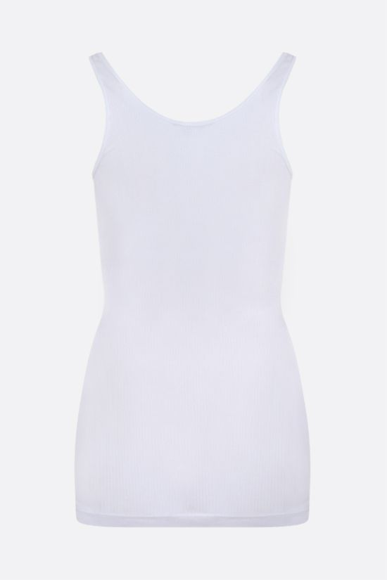 JAMES PERSE: ribbed cotton tank top Color White_2