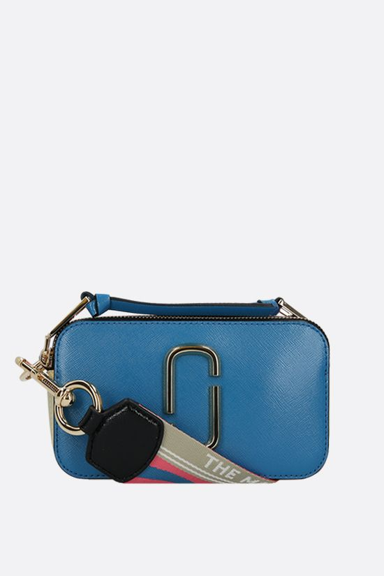 MARC JACOBS: Snapshot small crossgrain leather camera bag Color Multicolor_1