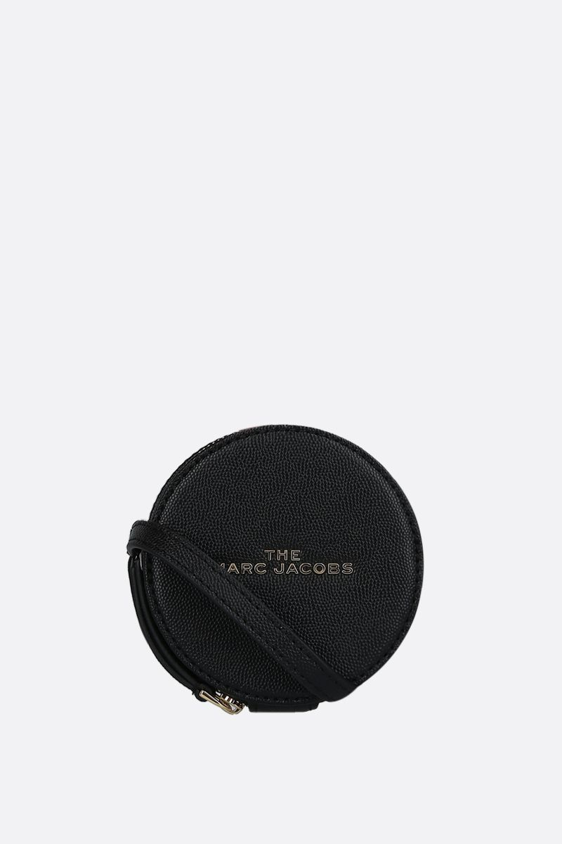 MARC JACOBS: The Hot Spot textured leather mini bag Color Black_1