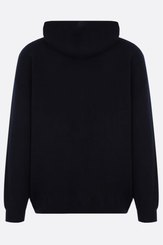 MASSIMO ALBA: full-zip cashmere cardigan Color Blue_2