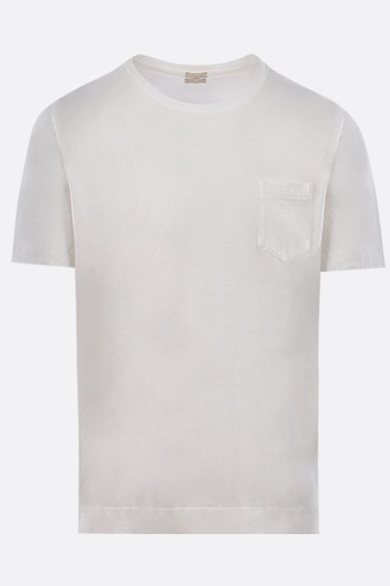 MASSIMO ALBA: Panarea cotton t-shirt Color White_1