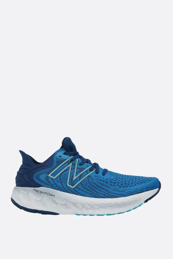 NEW BALANCE: Fresh Foam 1080v11 stretch knit sneakers Color Blue_1