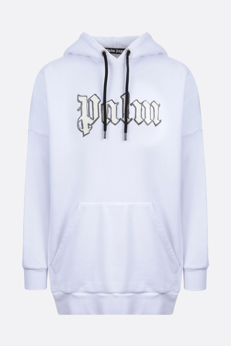 PALM ANGELS: Glow in the Dark cotton oversize hoodie_1