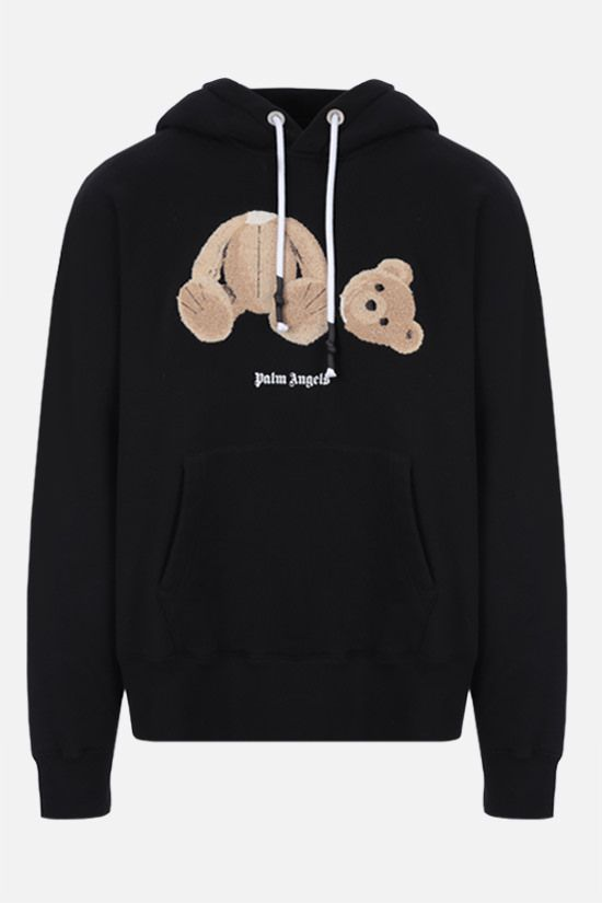 PALM ANGELS: Bear oversize cotton hoodie_1