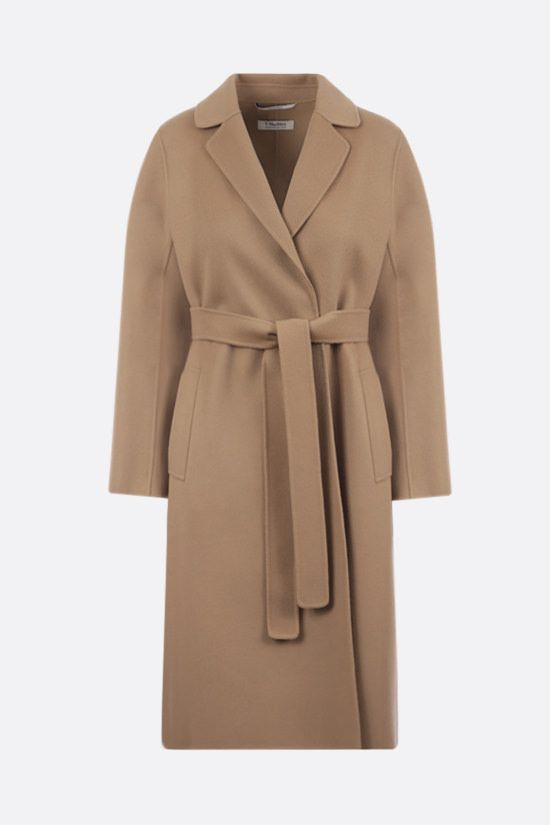 'S MAX MARA: Pauline wool wrap coat Color Brown_1