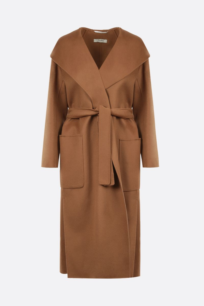 'S MAX MARA: Nicolo wrap wool coat Color Neutral_1