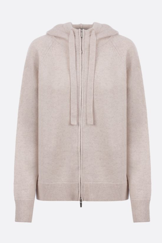 'S MAX MARA: cardigan full-zip Ghiera in lana e cashmere Colore Neutro_1