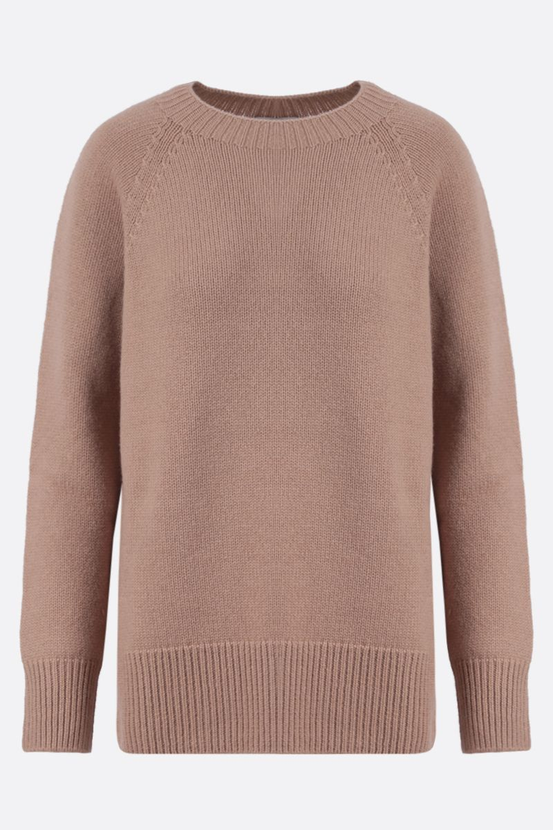 'S MAX MARA: Como cashmere pullover Color Neutral_1