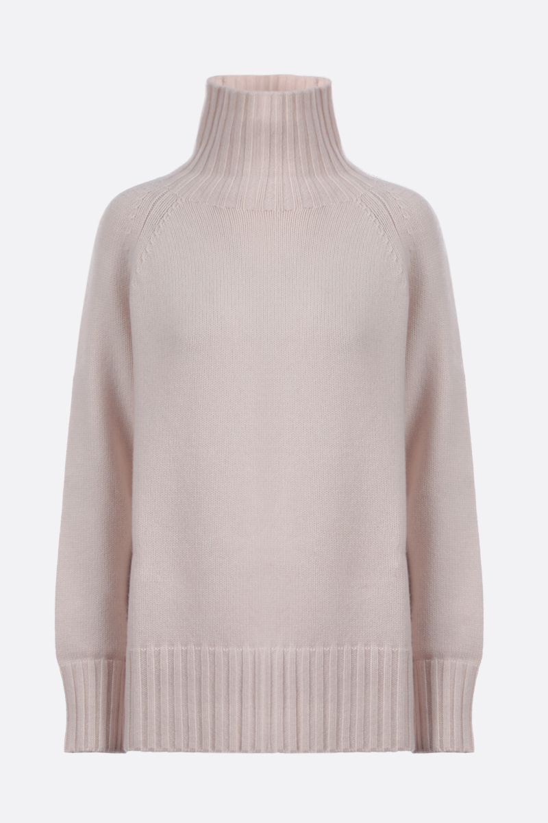 'S MAX MARA: Mantova wool cashmere blend turtleneck_1