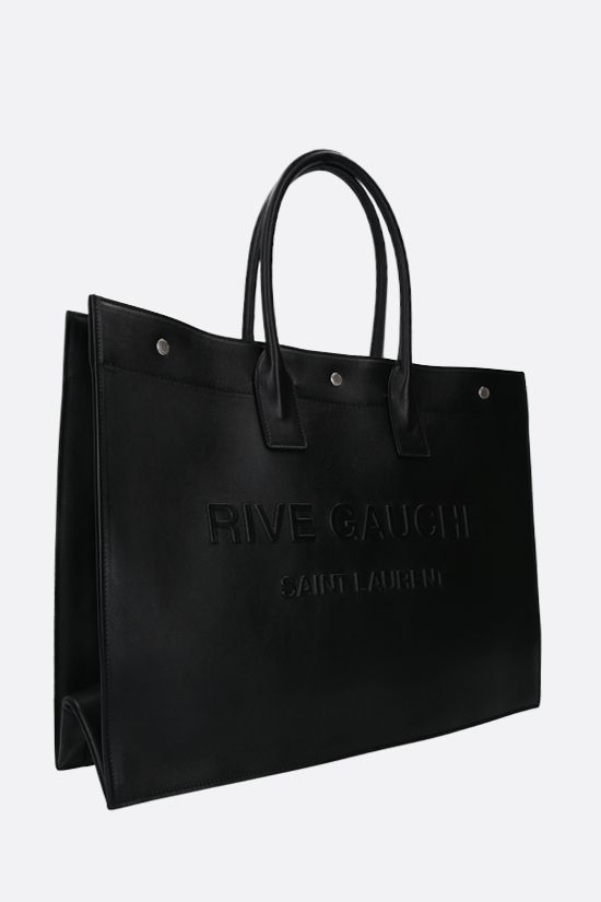 SAINT LAURENT: Noe smooth leather tote bag Color Black_2