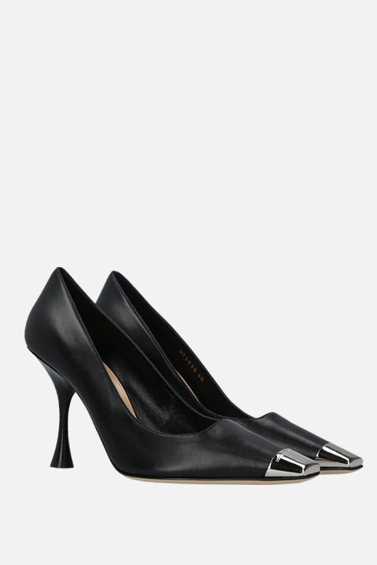 SERGIO ROSSI: sr Twenty smooth leather pumps Color Black_2