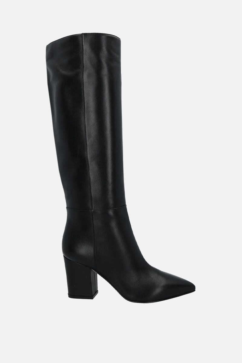 SERGIO ROSSI: Sergio soft nappa boots Color Black_1