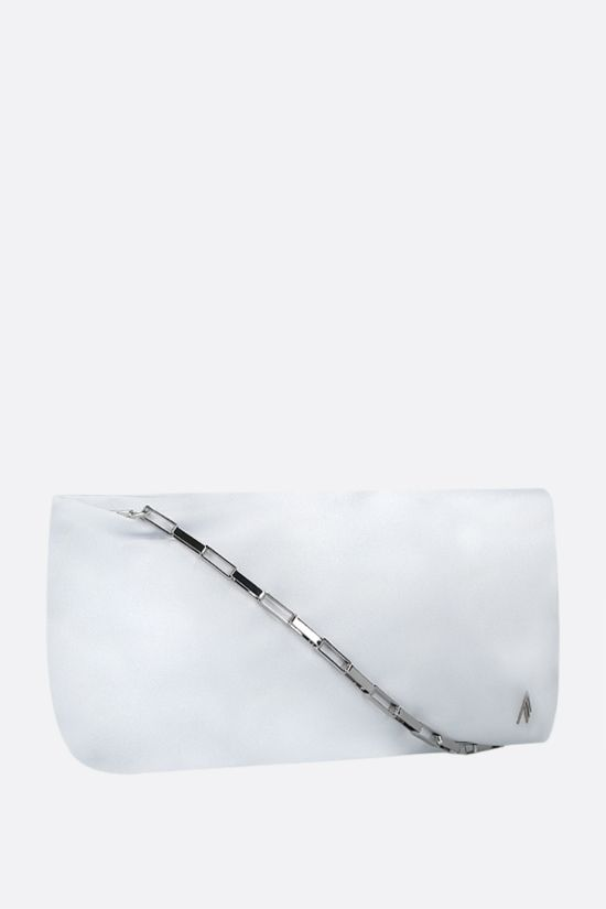 THE ATTICO: Wynona smooth leather handbag Color White_2