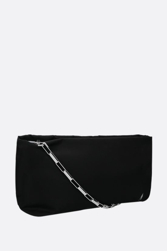 THE ATTICO: Wynona nylon handbag Color Black_2