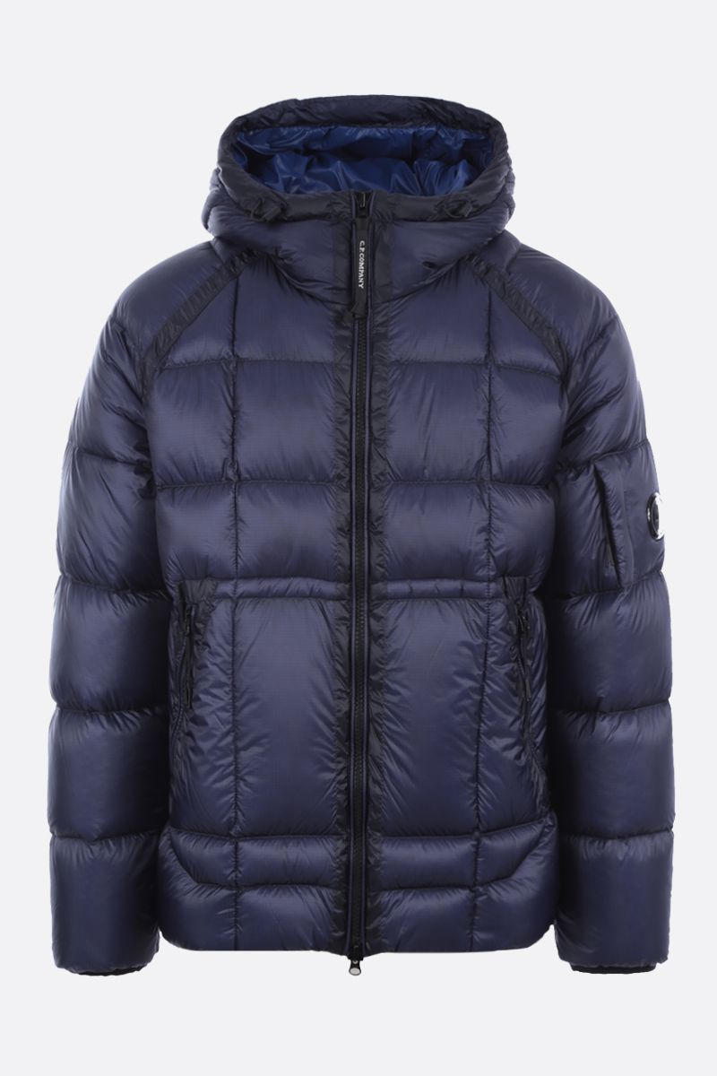CP COMPANY: D.D. Shell down jacket Color Blue_1