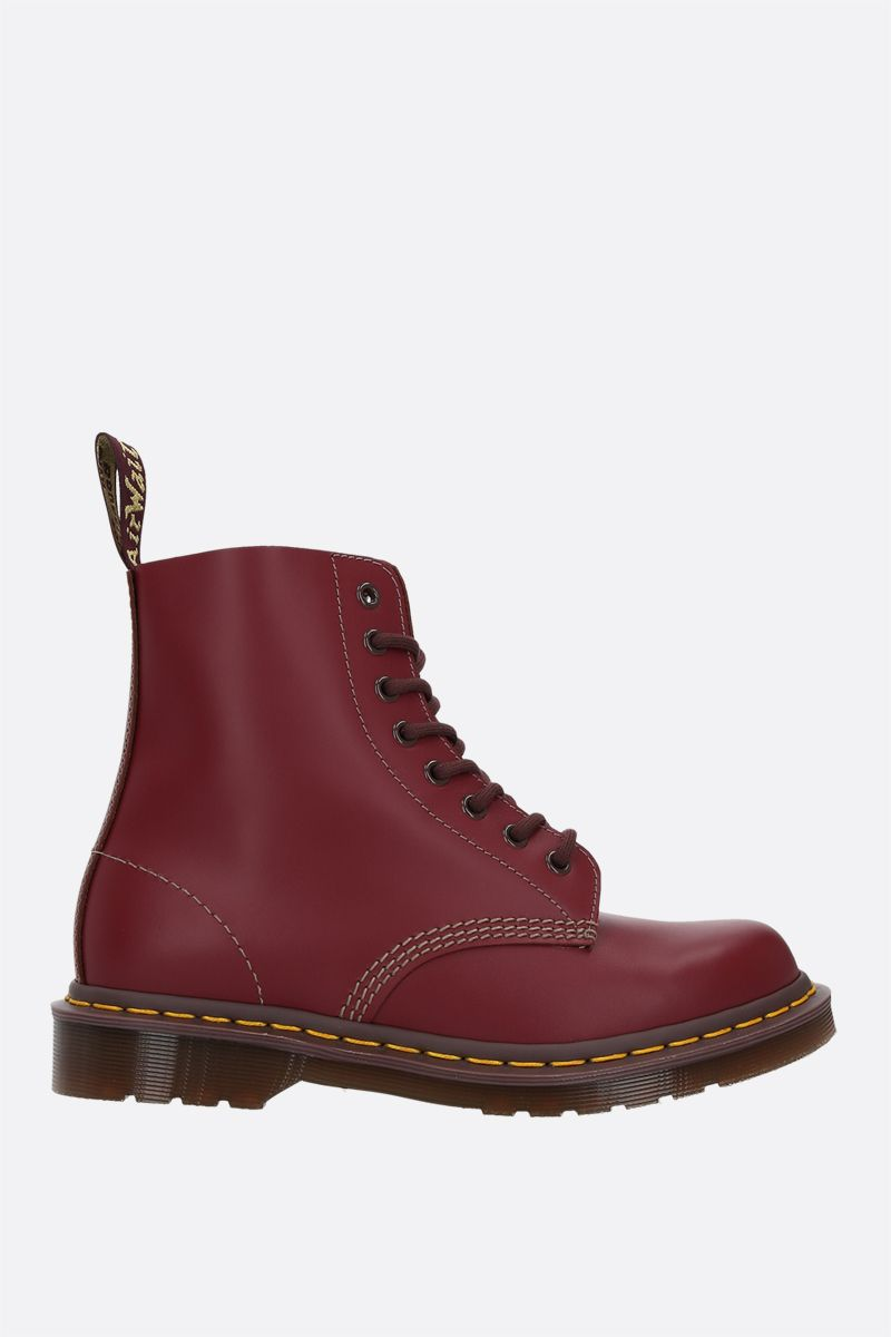 DR. MARTENS: anfibio 1460 in pelle liscia Colore Red_1