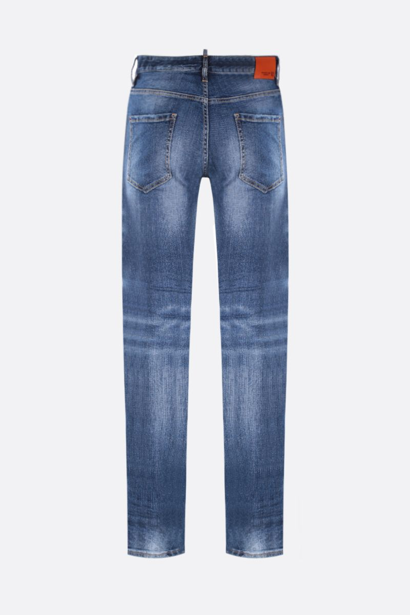 DSQUARED2: Cool Guy patch-detailed jeans Color Blue_2