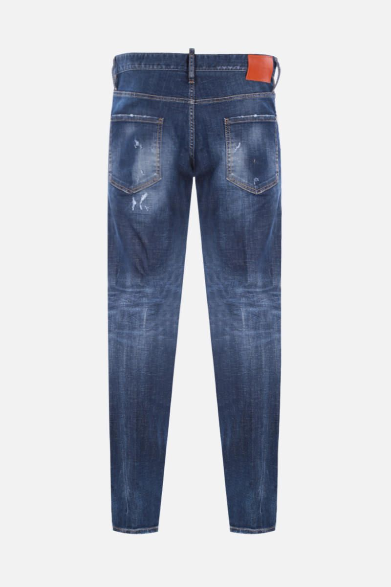 DSQUARED2: Cool Guy distressed-effect jeans Color Blue_2