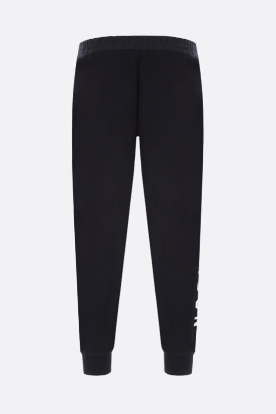 DSQUARED2: Icon Dsquared2 cotton joggers Color Black_2