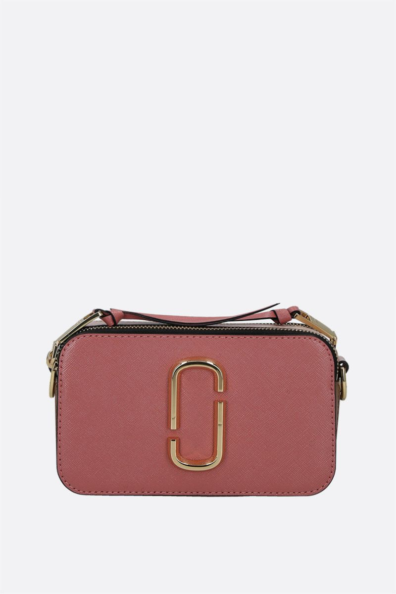 MARC JACOBS: Snapshot small crossgrain leather camera bag_1
