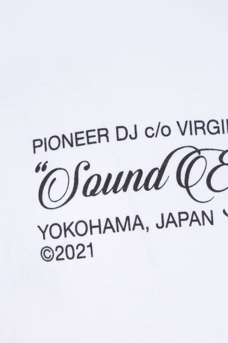 OFF WHITE: t-shirt Sound Engineering in cotone Colore White_3