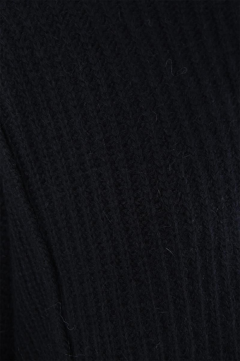 PAUL POIRET: Amadeo oversize wool and alpaca pullover Color Black_3
