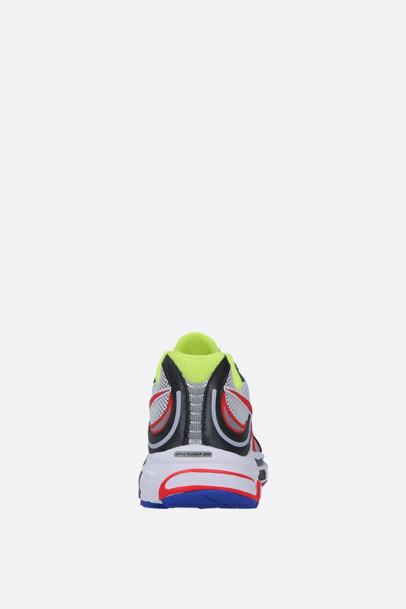 VETEMENTS: Spike Runner 200 sneakers in mesh and faux leather Color Multicolor_4