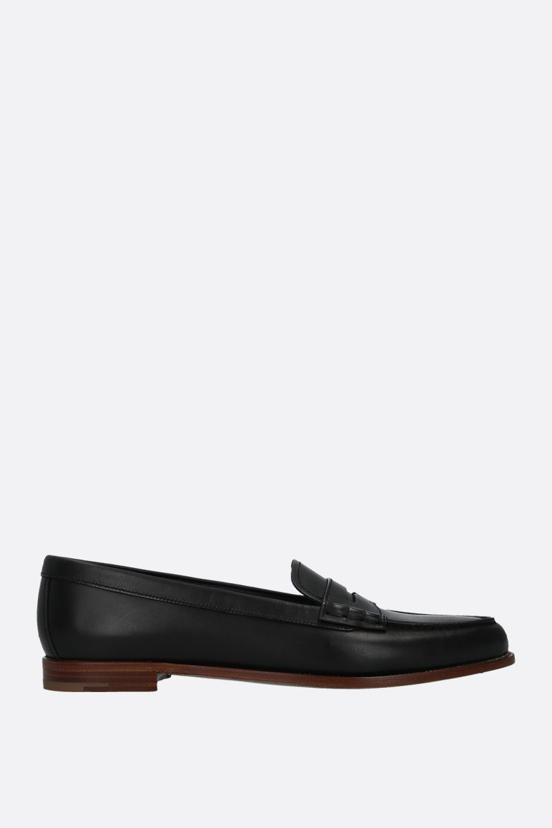 CHURCH'S: Kara 2 loafers in brushed leather Color Black_1