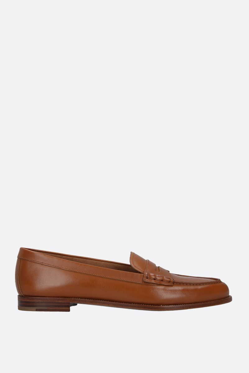 CHURCH'S: Kara 2 loafers in brushed leather Color Neutral_1