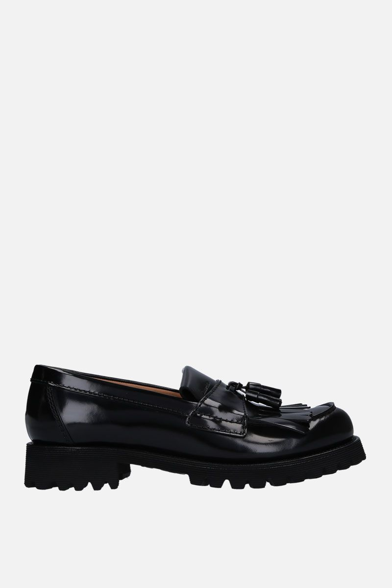 CHURCH'S: Catrina loafers in brushed calf Colore Nero_1