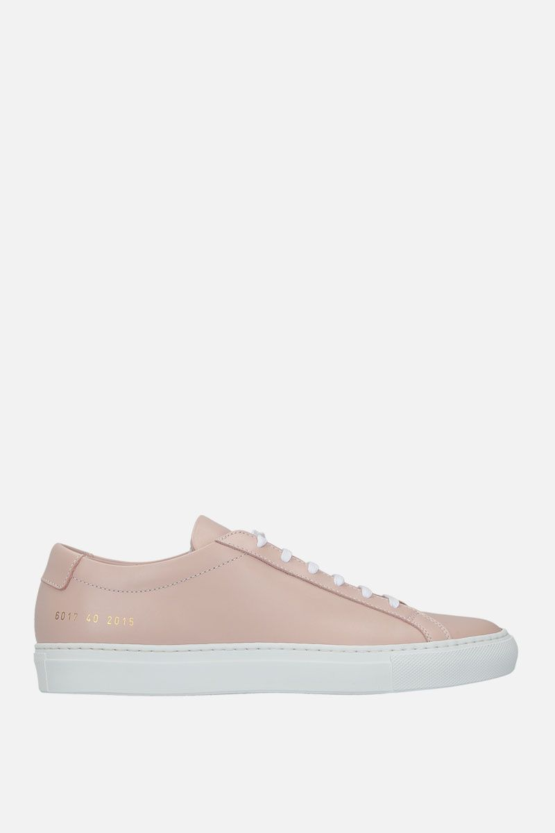 COMMON PROJECTS: Achilles sneakers in smooth leather Color Pink_1