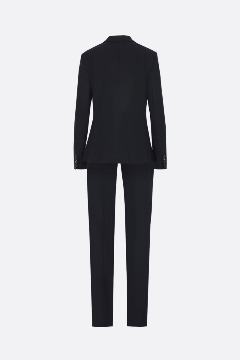 DSQUARED2: London two-piece suit in stretch wool Color Black_2