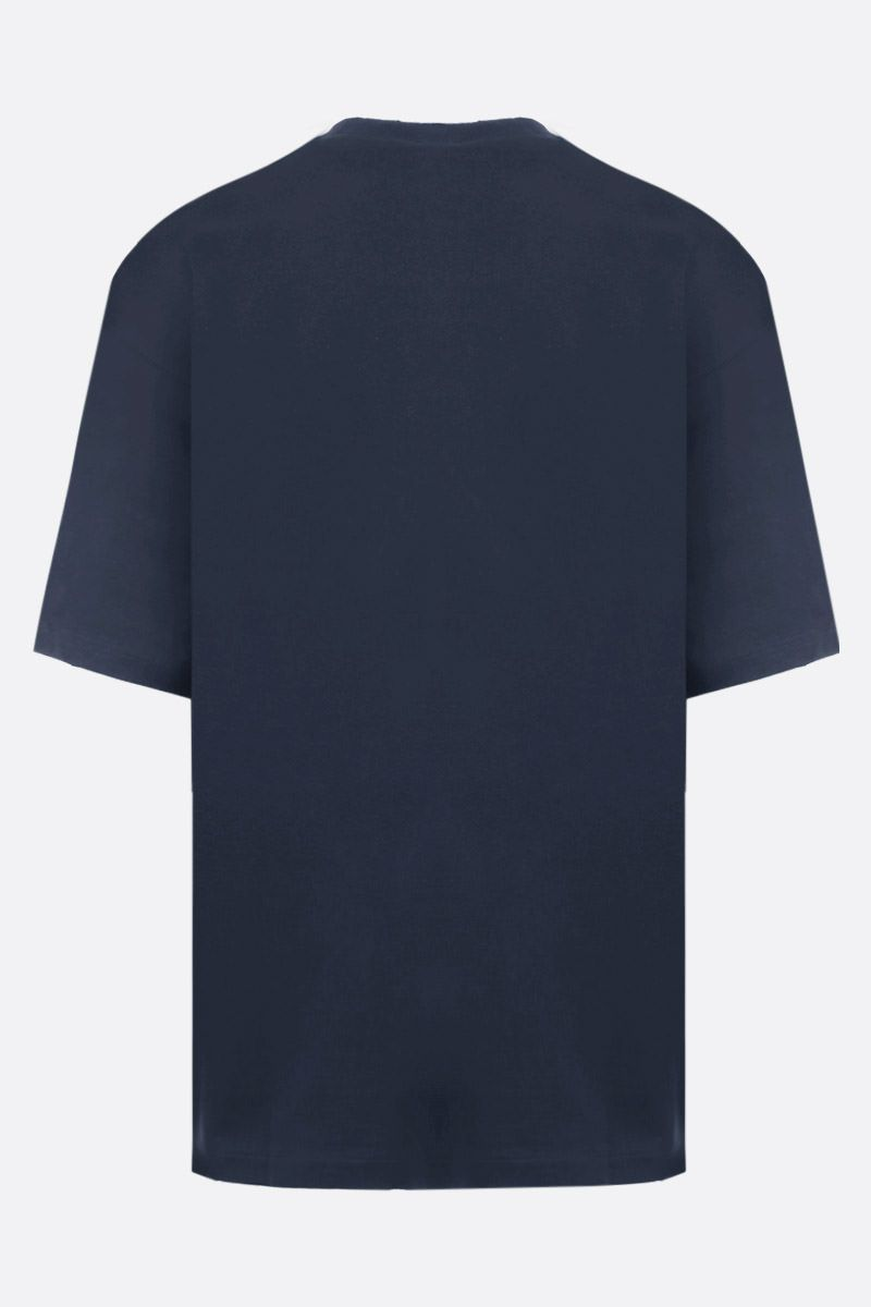 IH NOM UH NIT: Koi Fish print jersey oversized t-shirt Color Blue_2