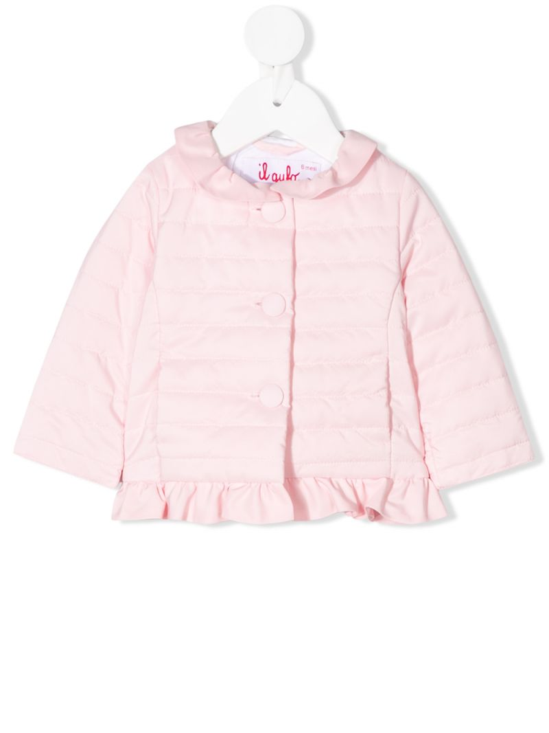 IL GUFO: nylon quilted jacket Color Pink_1