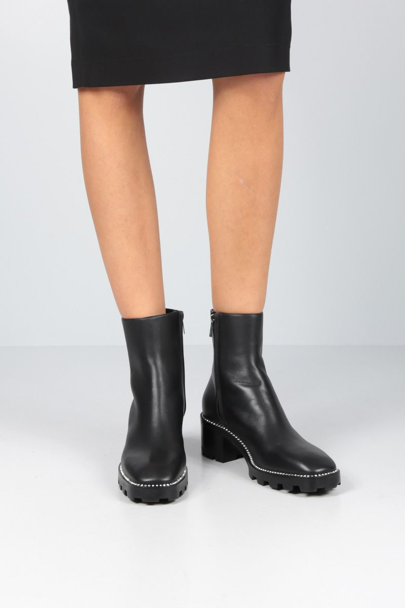 JIMMY CHOO: Mava ankle boots in smooth leather Color Black_2