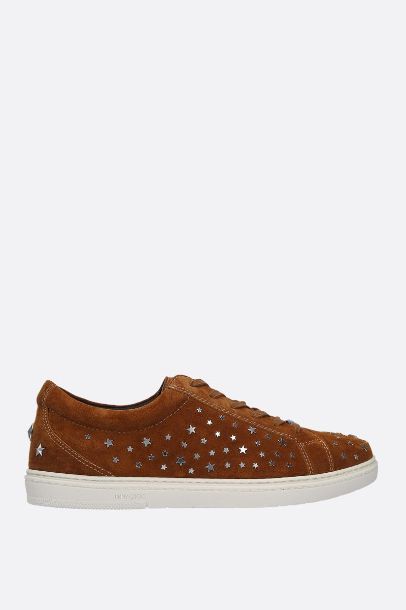 JIMMY CHOO: sneaker Cash in suede_1