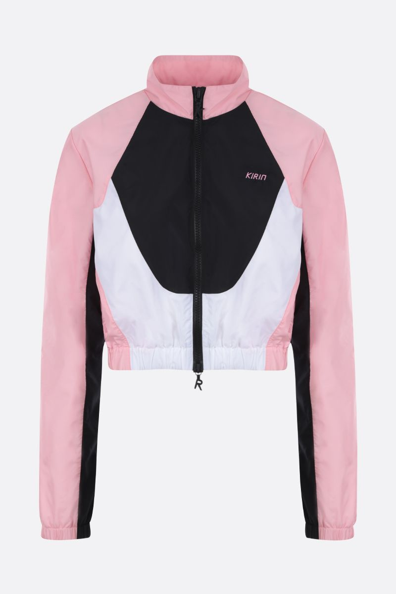 KIRIN: nylon track jacket Color Pink_1
