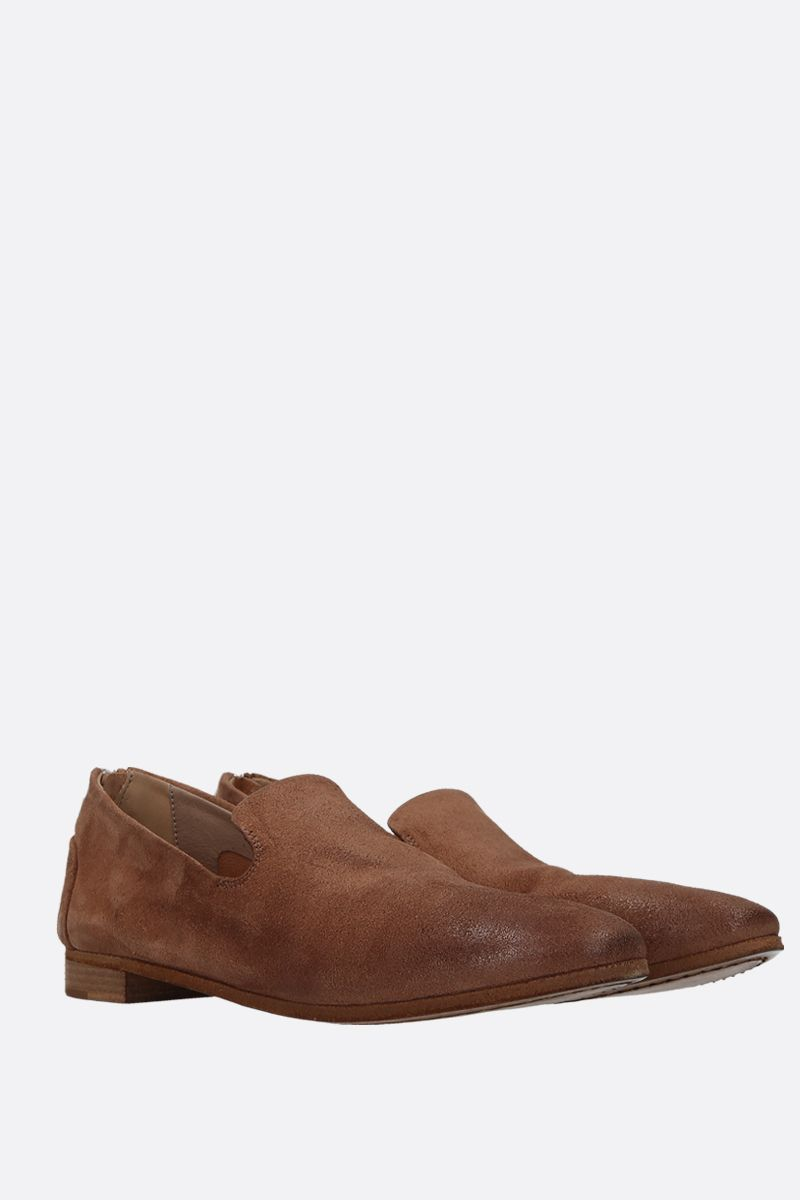 MARSELL: Colteldino slippers in reversed leather Color Brown_2