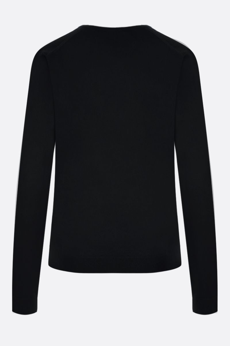 MILA SCHON: combed wool pullover Color Black_2
