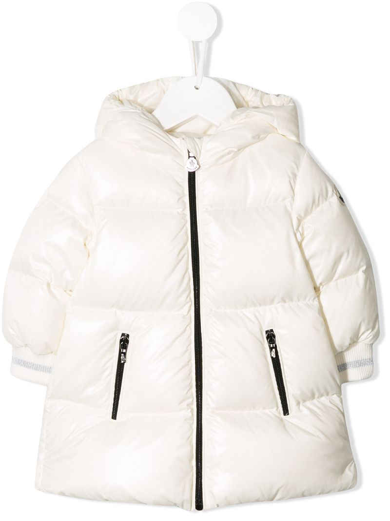 MONCLER KIDS: Gliere down jacket in shiny nylon Color Neutral_1