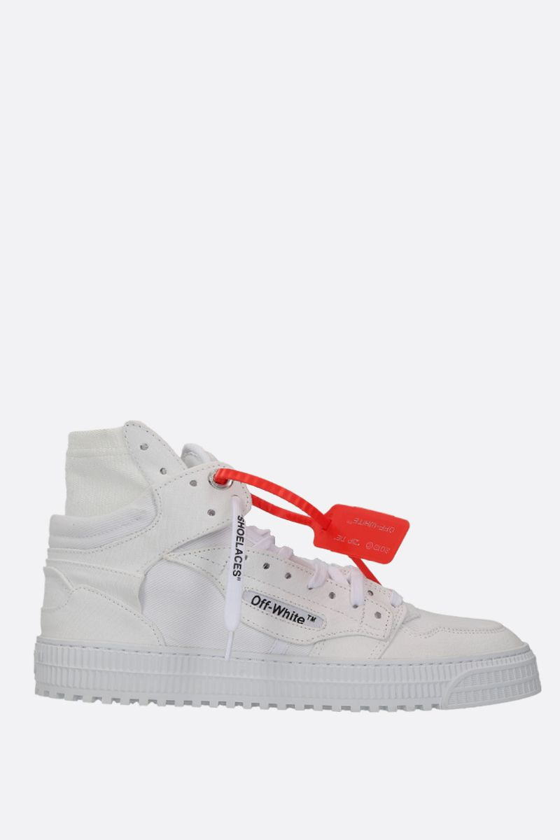 OFF WHITE: Off Court 3.0 sneakers in canvas Color White_1