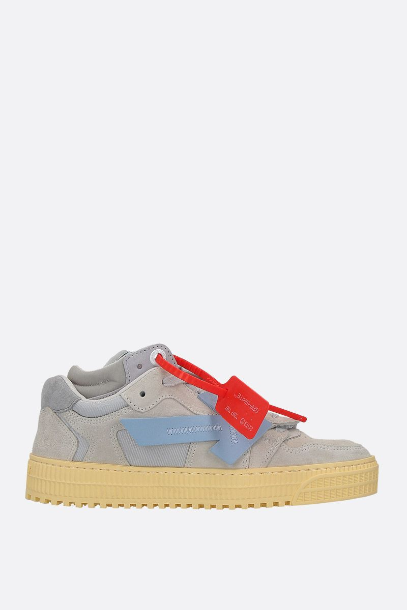 OFF WHITE: Off-Court 3.0 suede sneakers Color Grey_1