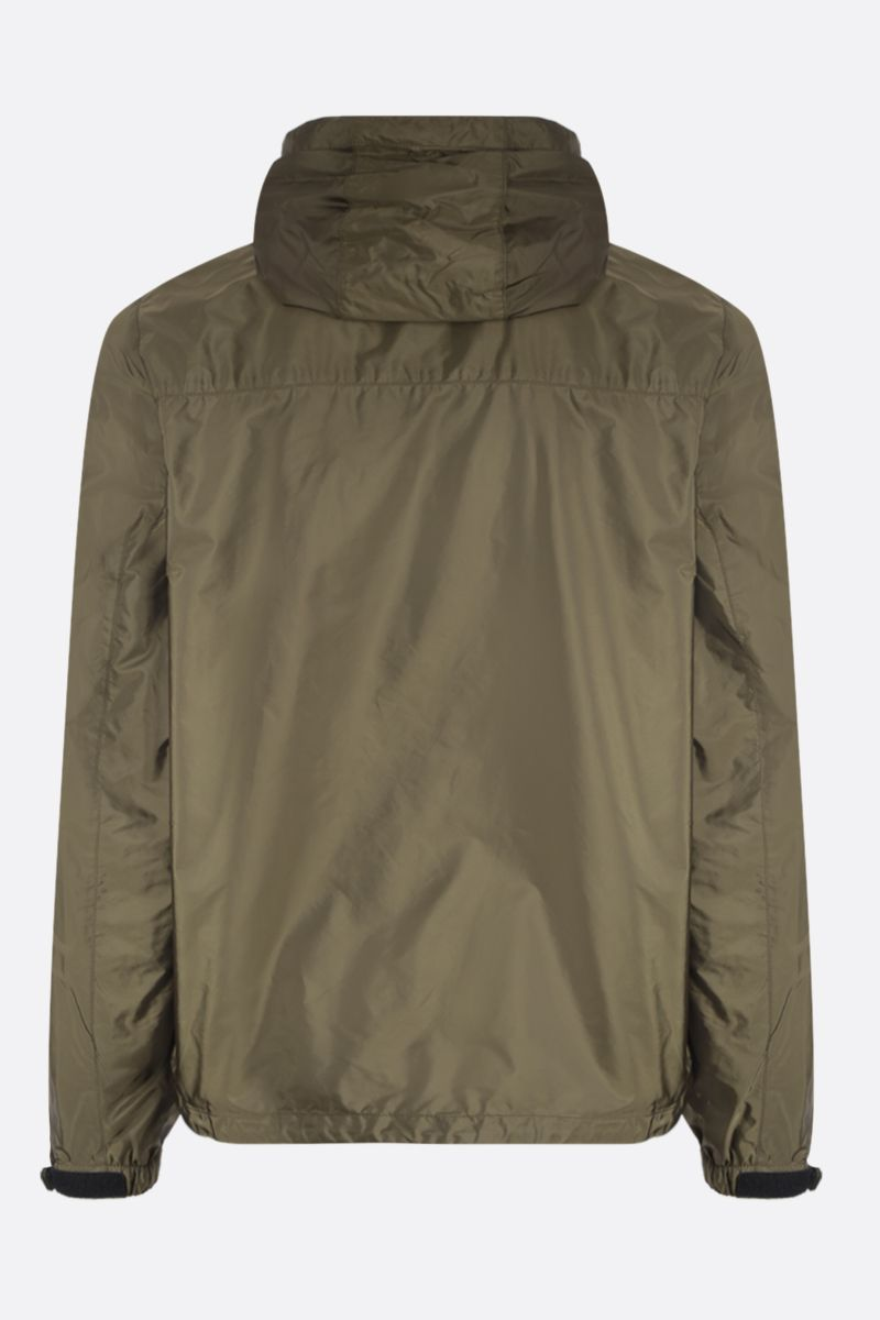 PRADA: nylon windbreaker Color Brown_2