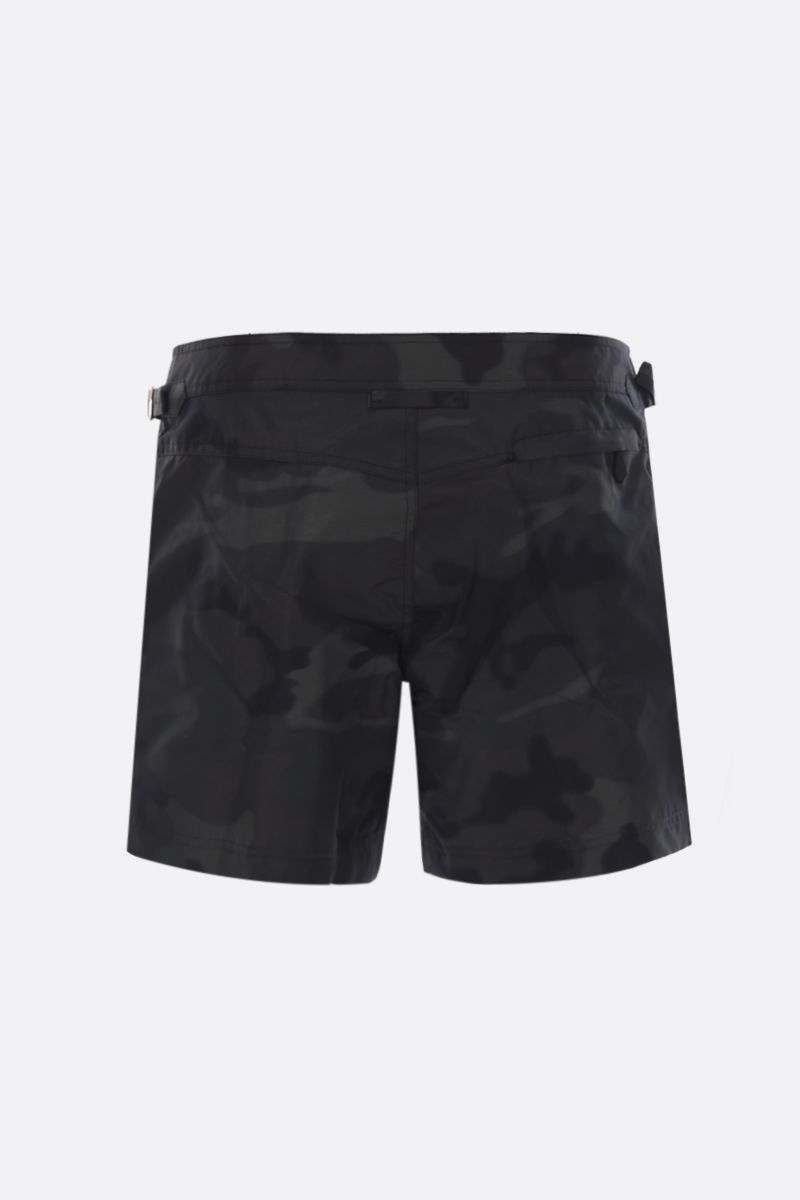 TOM FORD: camouflage print nylon swim shorts Color Multicolor_2