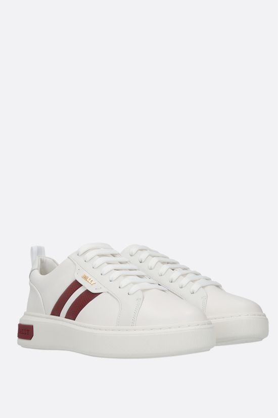 BALLY: Maxim smooth leather sneakers Color White_2