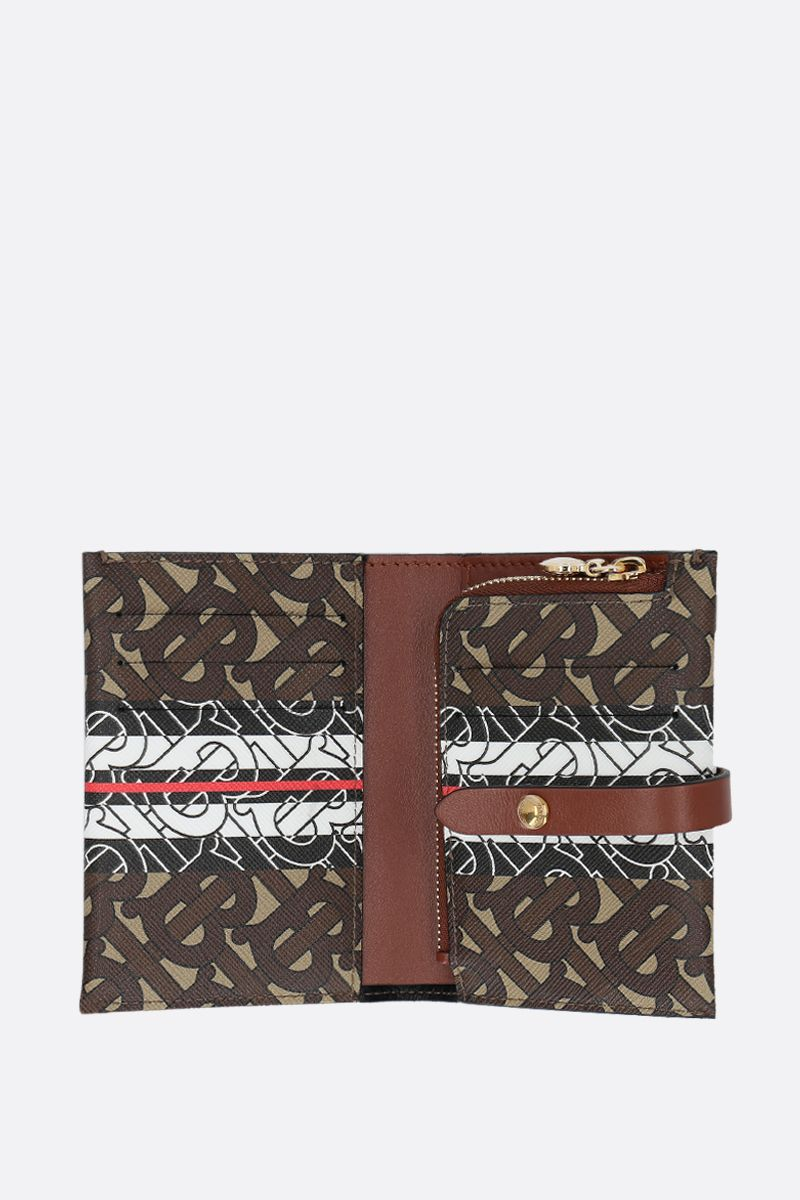 BURBERRY: Vivian coated canvas wallet_2