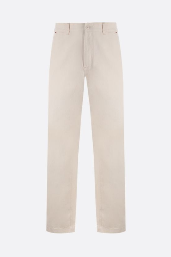 CARHARTT WIP: Wesley cotton drill pants Color Neutral_1